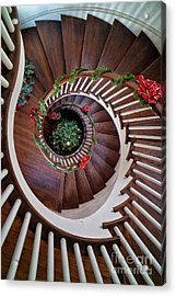 To The Bottom Of The Staircase Acrylic Print