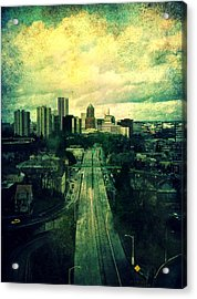 To The City Acrylic Print by Cathie Tyler
