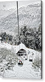 To The Land Of Frozen Dreams In The Argentine Patagonia Acrylic Print