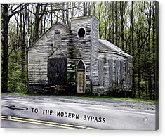 To The Modern Bypass Acrylic Print