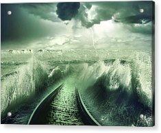 To The Sea Acrylic Print by Svetlana Sewell