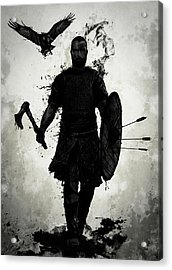 To Valhalla Acrylic Print by Nicklas Gustafsson