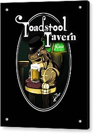 Toadstool Tavern  Acrylic Print