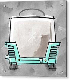 Toaster Aqua Acrylic Print