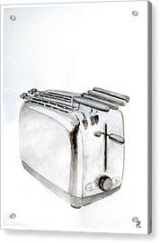 Toaster Acrylic Print by Renzo