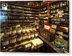 Tobacco Jars Acrylic Print