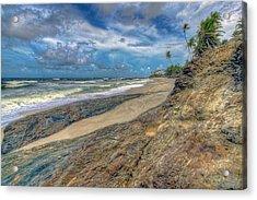 Toco Coastline Acrylic Print by Nadia Sanowar