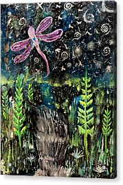 Acrylic Print featuring the painting Today's Memory by Julie Engelhardt