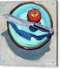 Today's Tomato Acrylic Print
