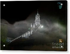 Todos Santos In The Fog Acrylic Print by Al Bourassa