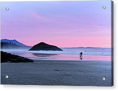 Tofino Sunset Acrylic Print by Keith Boone