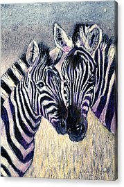 Together Acrylic Print by Arline Wagner