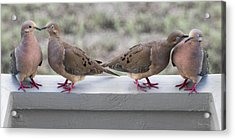 Together For Life Acrylic Print by Betsy Knapp
