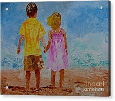 Together Acrylic Print by Inna Montano