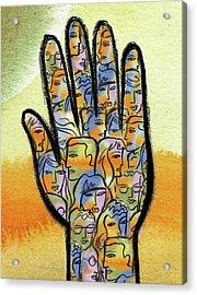 Togetherness Acrylic Print