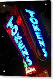 Tokens Acrylic Print by Elizabeth Hoskinson