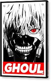 Tokio Ghoul Obay Acrylic Print