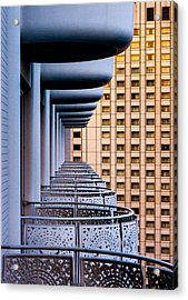 Tokyo Balconies Acrylic Print