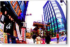 Tokyo Acrylic Print by Jera Sky