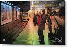 Tokyo Metro, Japan Acrylic Print
