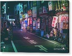 Tokyo Side Streets, Japan Acrylic Print