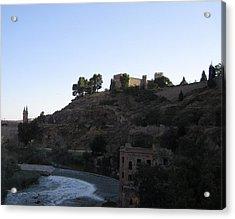 Toledo Castle Acrylic Print