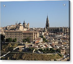 Toledo Cathedral Acrylic Print