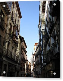 Toledo Cathedral View Acrylic Print