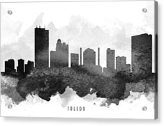 Toledo Cityscape 11 Acrylic Print
