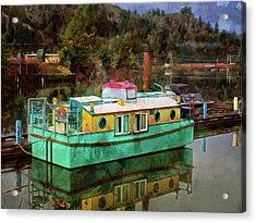 Toledo Showboat Acrylic Print