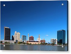 Acrylic Print featuring the photograph Toledo Skyline I by Michiale Schneider