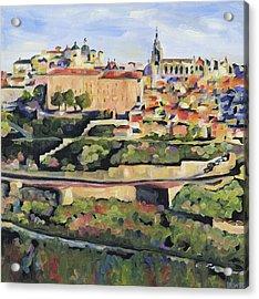 Toledo Spain Acrylic Print by Anne Lewis