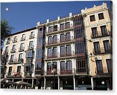 Toledo Vintage Buildings Acrylic Print