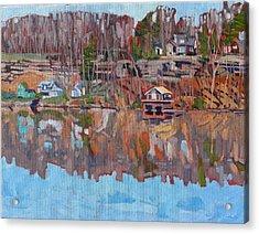 Toltons Shore Acrylic Print