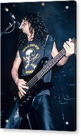 Tom Araya Of Slayer Acrylic Print