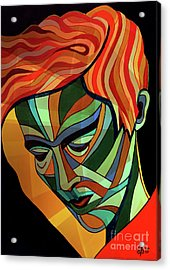 Tom Boy - Version # 2 Acrylic Print by Shmulik Benhos