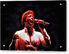 Tom Jones In Concert Acrylic Print