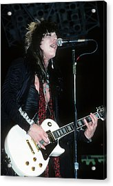 Tom Keifer Of Cinderella Acrylic Print