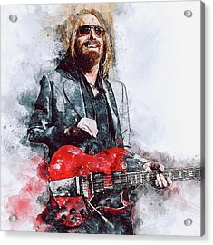 Tom Petty - 21 Acrylic Print