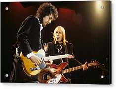 Tom Petty And Mike Campbell Acrylic Print