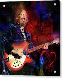 Tom Petty And The Heartbreakers Acrylic Print