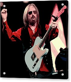 Tom Petty, Hypnotic Eye Acrylic Print