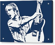 Tom Petty - Portrait 02 Acrylic Print