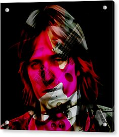 Acrylic Print featuring the mixed media Tom Petty Rock And Roll by Marvin Blaine