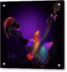 Tom Petty Tribute 1 Acrylic Print