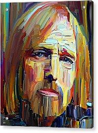 Tom Petty Tribute Portrait 4 Acrylic Print