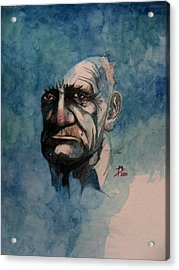 Tom Acrylic Print by Ray Agius