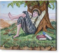 Tom Sawyer Adventures Acrylic Print by Kelly Mills