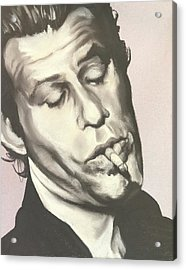 Tom Waits A Acrylic Print