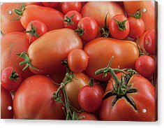Acrylic Print featuring the photograph Tomato Mix by James BO Insogna